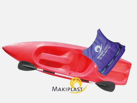Canoë kayak en plastique rigide